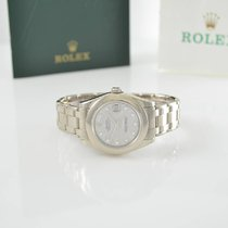 Rolex Medium Pearlmaster 81209 meteorite Diamond dial