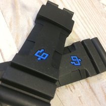 Rubber band 26/22 for panerai 616 carbontech With blue logo ,...