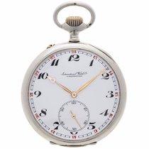 IWC SCHAFFHAUSEN silver antique pocket watch