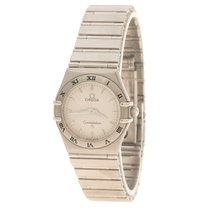 Omega Silver Stainless Steel Constellation Women's Watch