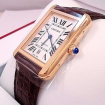 Cartier Tank Solo Xl W5200026 Automatic 18k Rose Gold B&p Msrp...