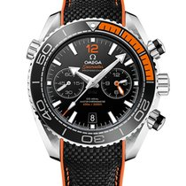 Omega Seamaster Planet Ocean Chronograph Steel 45.5mm Black