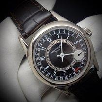 Patek Philippe Ref. 6000G-010 Calatrava White Gold Grey Dial