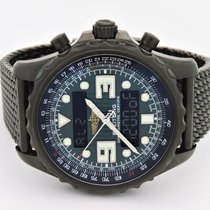 Breitling Chronospace Quartz Green Dial Analog Digital