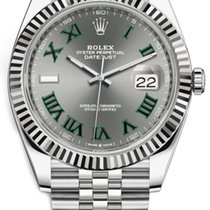 Rolex Datejust Rolex  #126334 41mm Slate Dial Green Roman Dial 2020 new