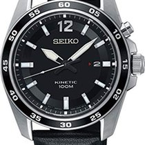 Seiko Kinetic SKA789P1 SEIKO SPORT Kinetic Acciaio Nero 42,6mm new