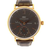 IWC Red gold Manual winding pre-owned Portofino Hand-Wound