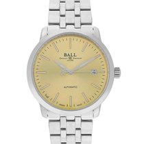 Ball Trainmaster Steel 40mm Gold United States of America, New Jersey, Cresskill