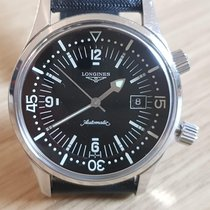 Longines L3.674.4.50.0 Staal 2015 Legend Diver 42mm tweedehands Nederland, Oegstgeest