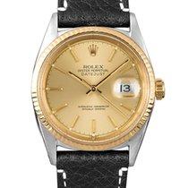 Rolex Datejust (Submodel) подержанные 36mm Золото/Cталь