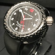 Giuliano Mazzuoli Carbon 45mm Automatic Manometro pre-owned United States of America, Florida, Pompano Beach