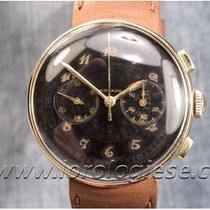 Movado Gelbgold 34mm Chronograph gebraucht Schweiz, Morcote