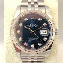 Rolex Datejust Diamond 116234 Blue dial ( New / 12-2018 EU )