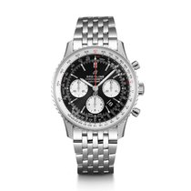 Breitling AB0121211B1A1 Steel Navitimer 1 B01 Chronograph 43 43mm new United States of America, New Jersey, Edgewater