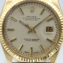 Rolex 1601 Yellow gold Datejust 36mm pre-owned