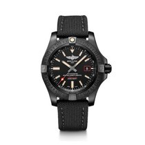 Breitling Titanium Automatic Black new Avenger Blackbird 44