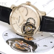 Greubel Forsey White gold 44mm Manual winding GF01 pre-owned