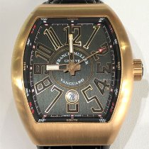 Franck Muller new Automatic 44mm Rose gold Sapphire Glass