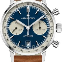 Hamilton Intra-Matic new Automatic Chronograph Watch with original box and original papers H38416541