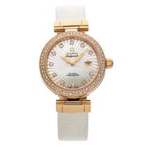 Omega De Ville Ladymatic Rose gold 34mm Mother of pearl No numerals