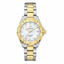 TAG Heuer Aquaracer Lady Gold/Steel 32mm Mother of pearl No numerals