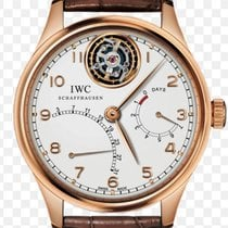 IWC Portuguese Tourbillon Rose gold 44.2mm Silver United States of America, Florida, Miami