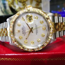 Rolex Datejust Gold/Steel 36mm Mother of pearl United States of America, California, West Hollywood