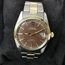Tudor Prince Oysterdate Steel 34mm Brown No numerals