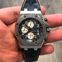 Audemars Piguet Royal Oak Offshore Chronograph Acero 42mm Azul Árabes