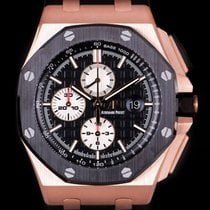 爱彼 Royal Oak Offshore Chronograph 26401RO.OO.A002CA.01 非常好 玫瑰金 44mm 自动上弦