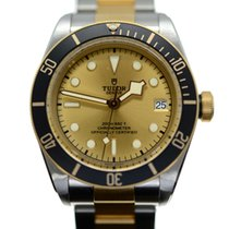 Tudor Black Bay S&G Gold/Steel 41mm Champagne No numerals
