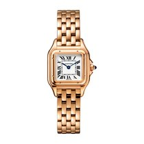Cartier Panthère Rose gold 22mm Silver Roman numerals United Kingdom, London