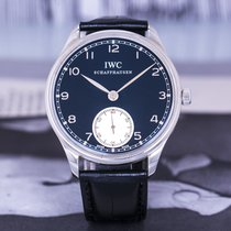 IWC Portuguese Hand-Wound 万国 IW545404 2017 pre-owned