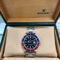Rolex 16710 Сталь 2004 GMT-Master II 40mm подержанные
