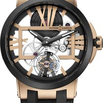 Ulysse Nardin Executive Skeleton Tourbillon new Manual winding Watch with original box and original papers