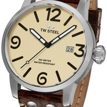 TW Steel Steel 48mm Quartz MS22 new