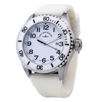 Zeno-Watch Basel nuevo Cuarzo 47mm Acero Cristal de zafiro