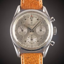 "Wakmann Acier Remontage manuel WITH ""TWISTED"" LUGS & ""ART DECO"" NUMERALS occasion"