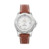 Breitling Colt Lady Staal 33mm Zilver Geen cijfers
