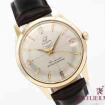 Enicar Yellow gold 35mm Automatic Ultrasonic pre-owned
