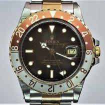 Rolex 16753 Goud/Staal 1986 GMT-Master 40mm tweedehands