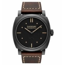 Panerai Ceramic Manual winding Black No numerals 48mm new Radiomir 1940 3 Days