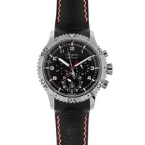 Breguet Type XX - XXI - XXII Steel 44mm Black Arabic numerals United States of America, New York, New York