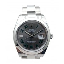 Rolex Datejust Steel 41mm Grey Singapore, Singapore