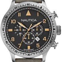 Nautica Steel 50mm Quartz new