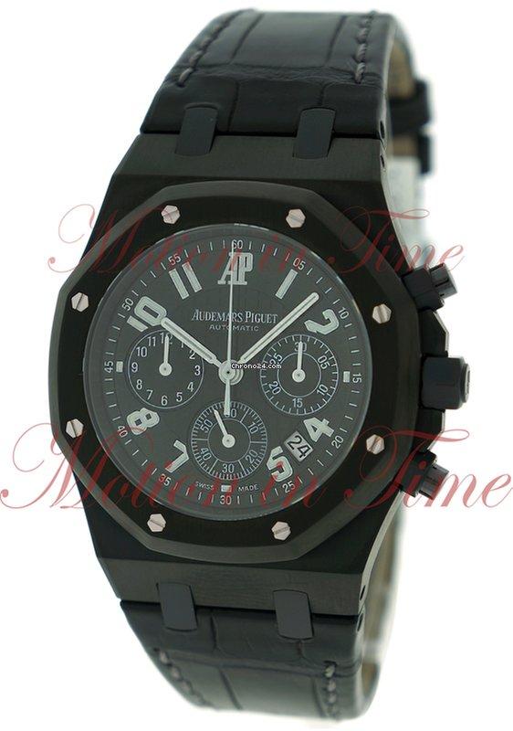 Audemars Piguet Royal Oak Chronograph La Boutique Black For