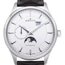 Zenith Captain Moonphase nowość 2021 Automatyczny Zegarek z oryginalnym pudełkiem i oryginalnymi dokumentami 03.2143.691/01.C498