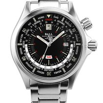 Ball Engineer Master II Diver Worldtime DG2022A-S3A-BK