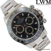 Rolex Daytona 116520 modified model 116500LN Basilea black dial