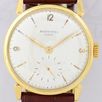 파텍필립 (Patek Philippe) Calatrava 18k Vintage small second Cal....